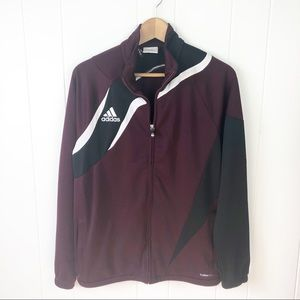 Adidas•Zip up track jacket
